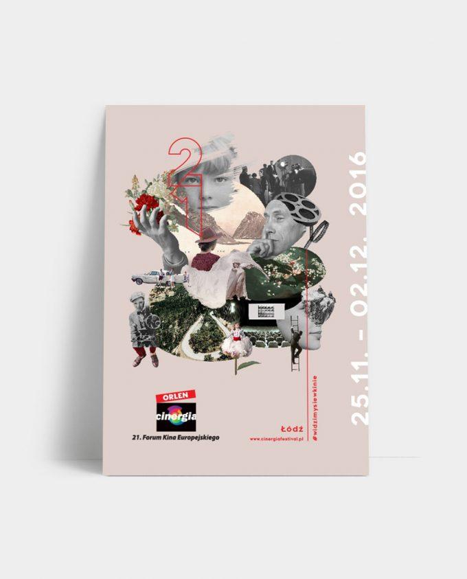 Katalog XXI Festiwalu Forum Kina Europejskiego ORLEN Cinergia
