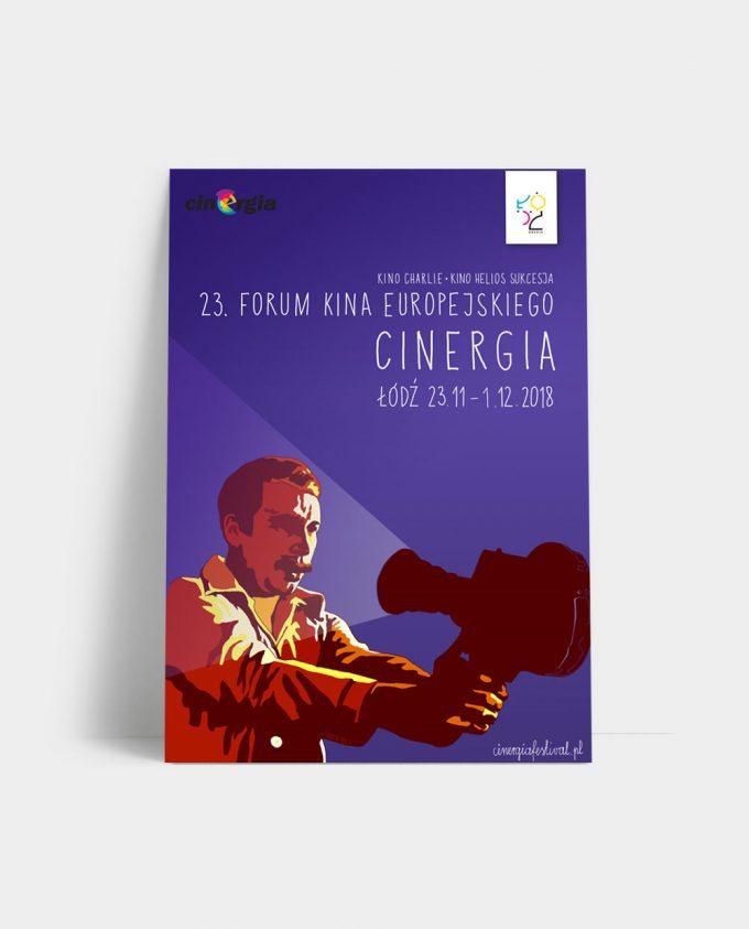 Katalog XXIII Festiwalu Forum Kina Europejskiego Cinergia