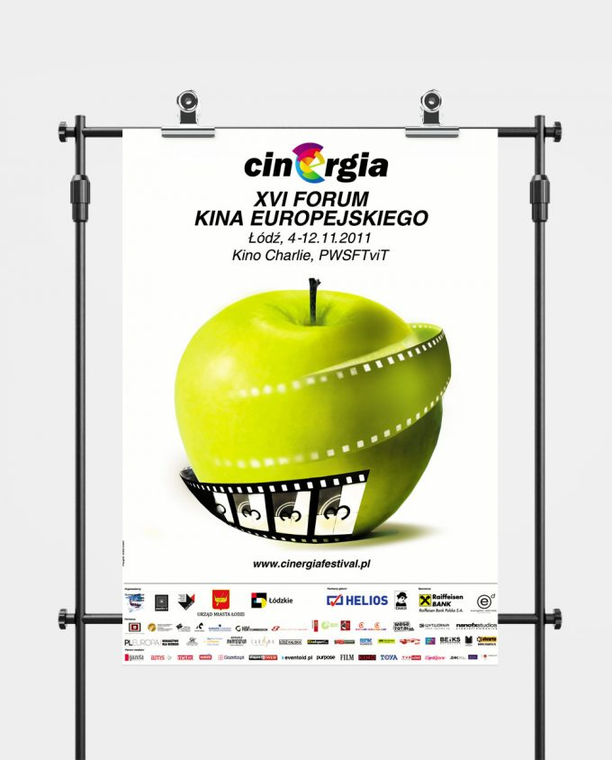 Plakat XVI Forum Kina Europejskiego Cinergia