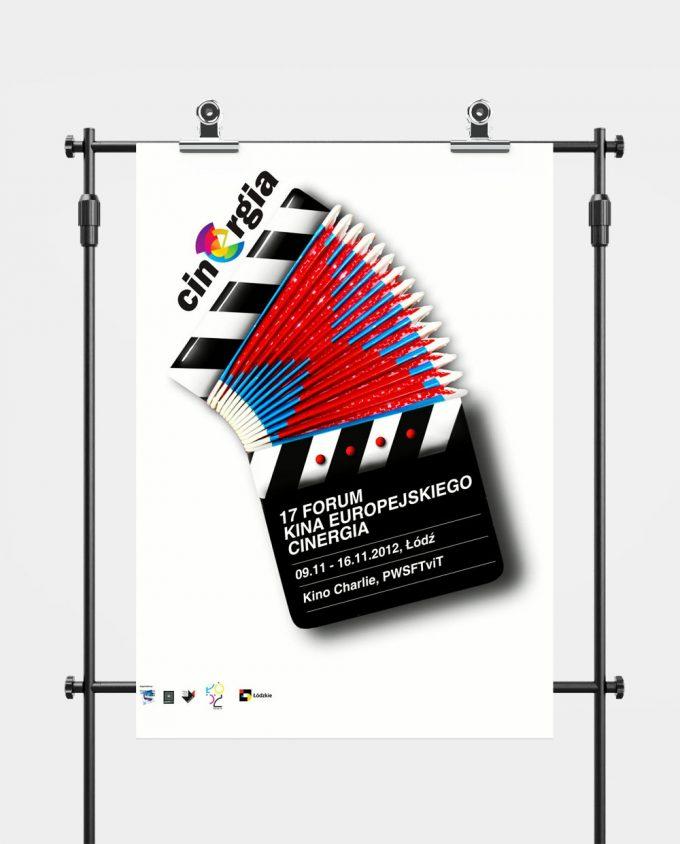 Plakat XVII Forum Kina Europejskiego Cinergia