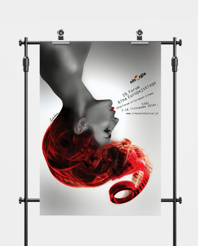 Plakat XIX Forum Kina Europejskiego ORLEN Cinergia