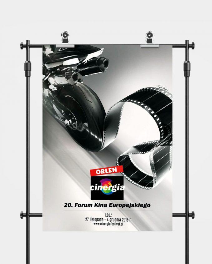 Plakat XX Forum Kina Europejskiego ORLEN Cinergia