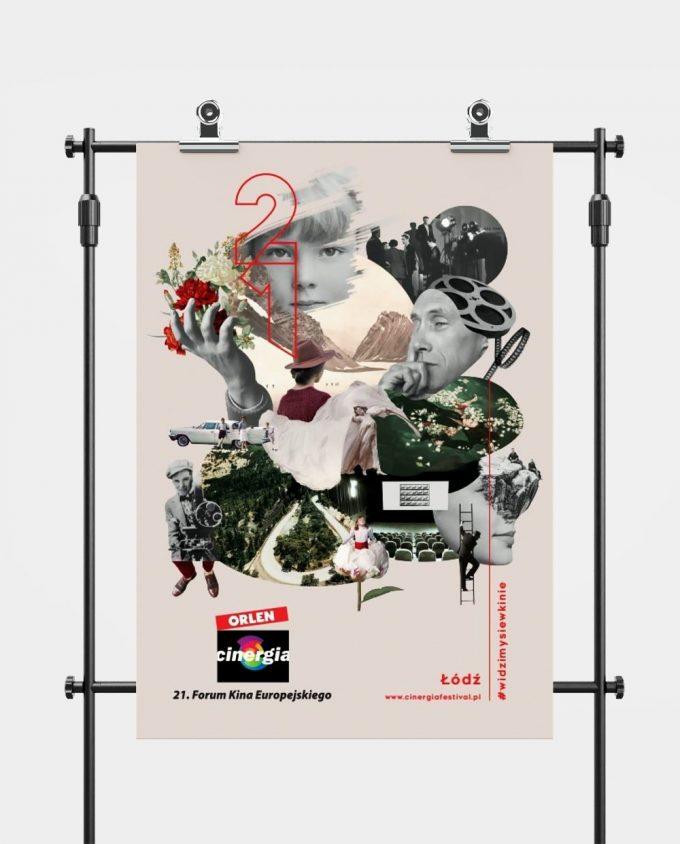 Plakat XXI Forum Kina Europejskiego ORLEN Cinergia