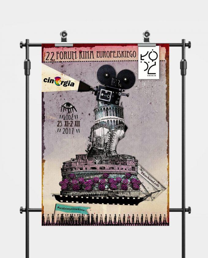 Plakat XXII Forum Kina Europejskiego ORLEN Cinergia