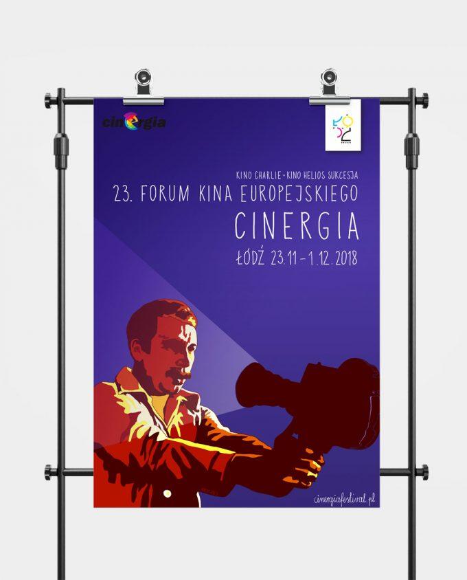 Plakat XXIII Forum Kina Europejskiego Cinergia