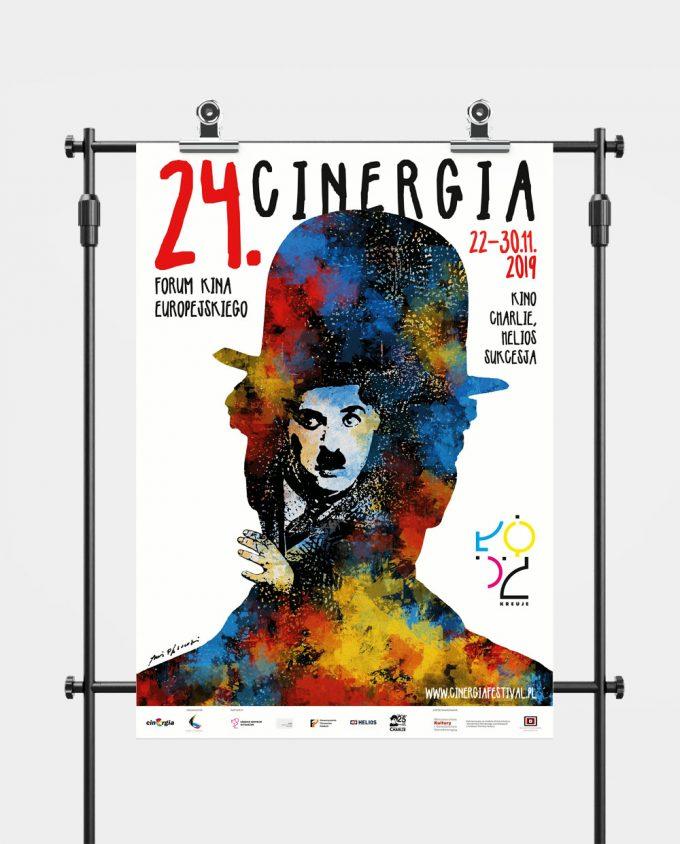 Plakat XXIV Forum Kina Europejskiego Cinergia
