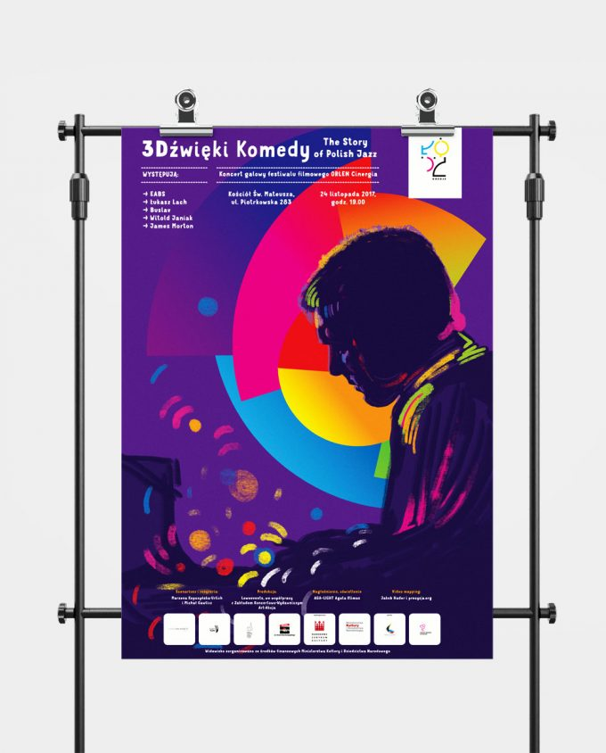 Plakat koncertu 3Dźwięki Komedy