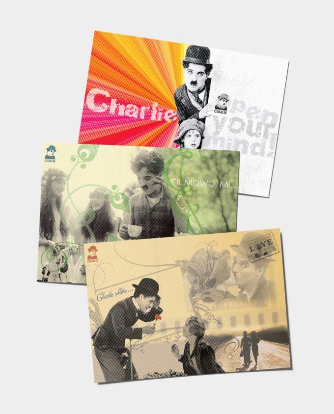 Pocztówki z Charlie Chaplinem