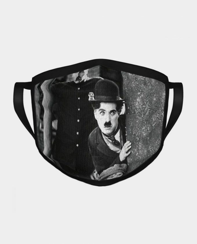 Maseczka Charlie Chaplin Brzdąc